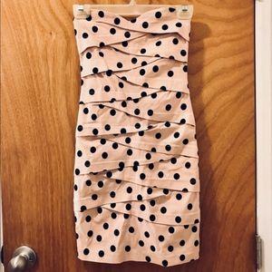 NWOT ASOS Polka Dot Bodycon Dress